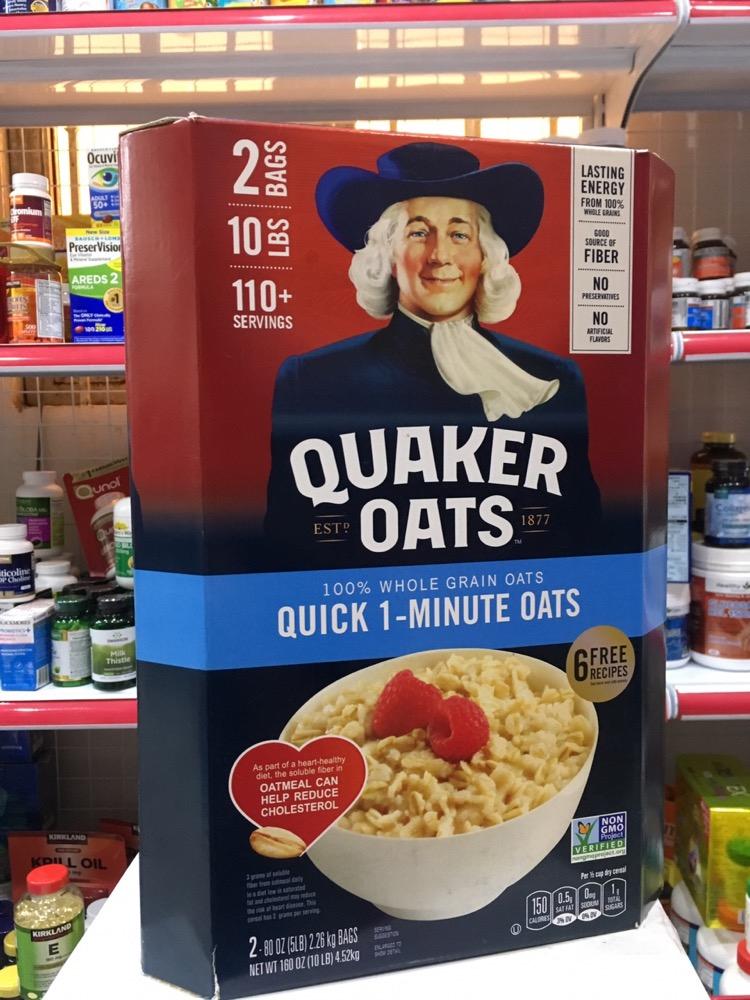Yến mạch Mỹ Quaker Oats Quick 1 Minute