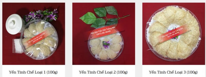 Yến sào Cần giờ Trang Nhi