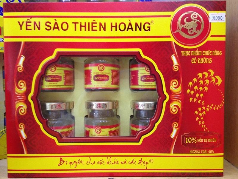 Sản phẩm yến sào Thiên Hoàng