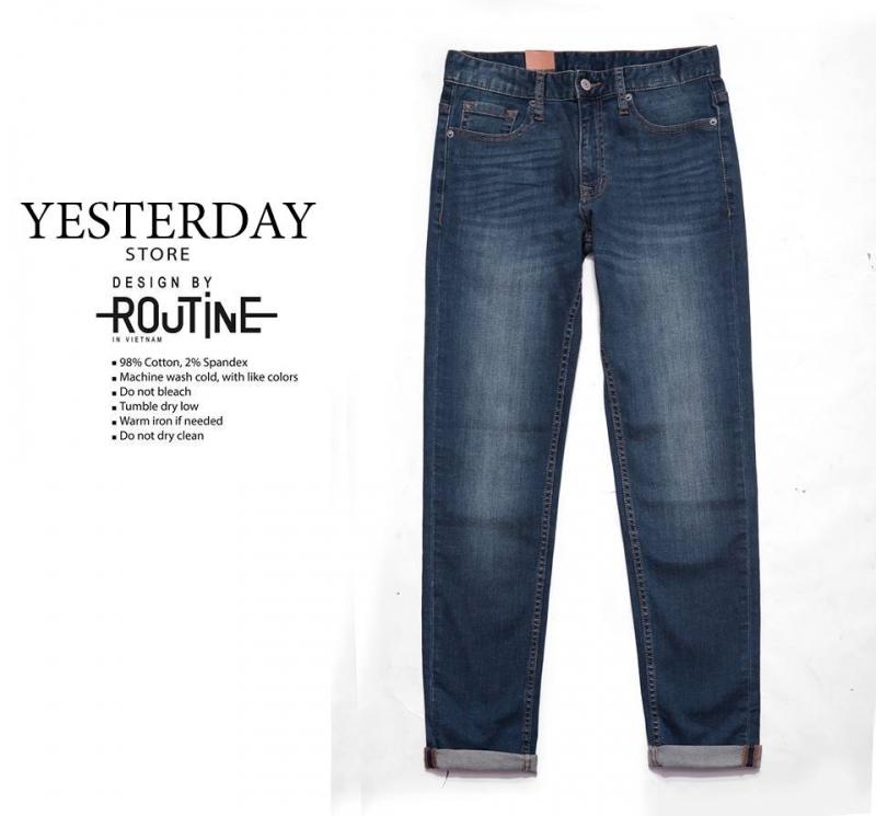 Giá quần jean tại Yesterday Store là: 350.000 VNĐ
