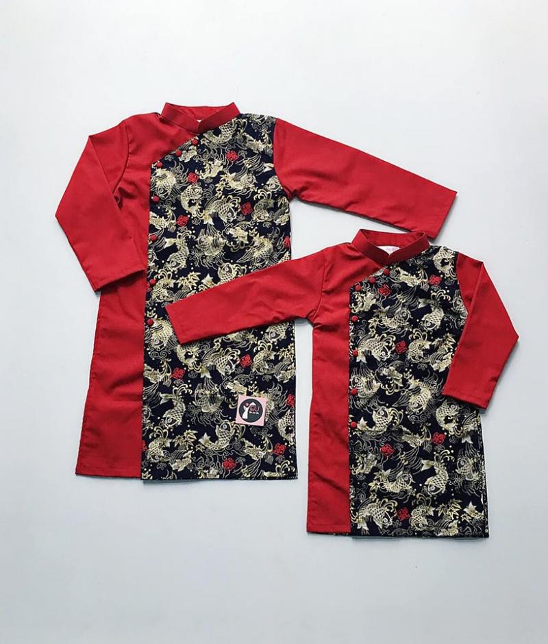 Đến đây, bạn không chỉ thấy những mẫu áo dài cho các bạn trẻ mà còn nhiều mẫu dành cho trẻ em cả nam và nữ nhé.
