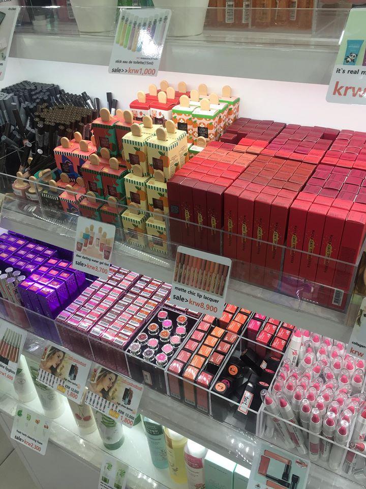YIN's cosmetic nhận order các loại mặt hàng mỹ phẩm của Hàn Và Mỹ