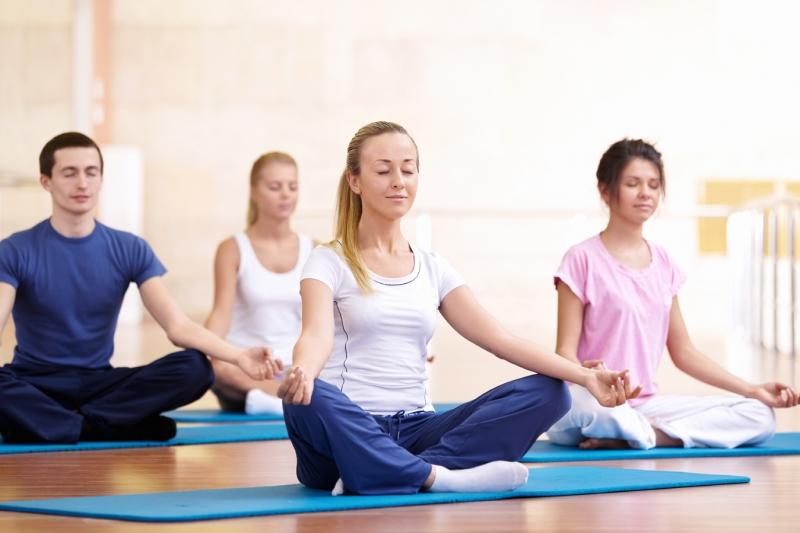 Yoga là sự nghỉ ngơi sau một ngày làm việc căng thẳng
