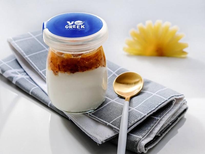 Sữa chua Hy Lạp sản phẩm của YoGreek