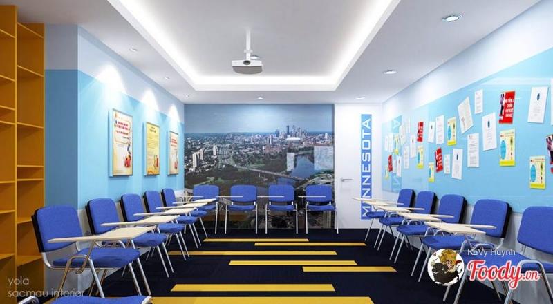 phòng học được thiết kế ấn tượng của Yola