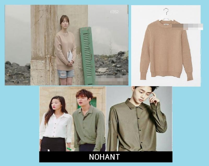 Song Hey Kyo và Lee Min Ho diện thiết kế của NOHANT trên phim