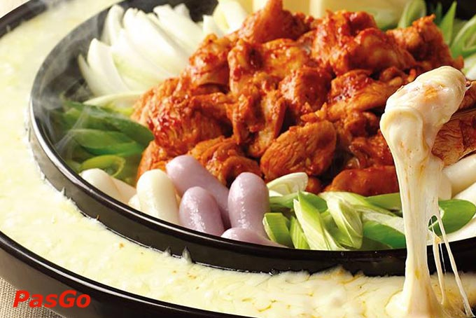 Yoogane Chicken Galbi - Aeon Mall Long Bien