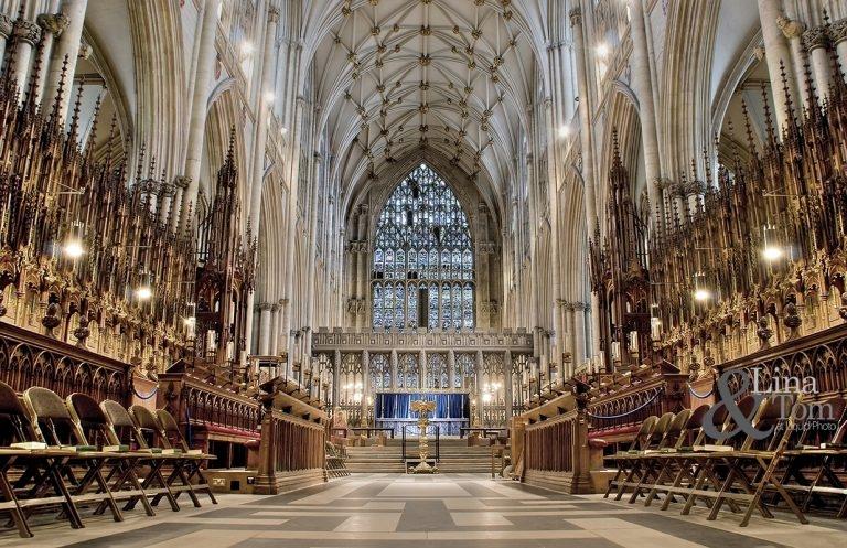 Không gian bên trong của nhà thờ York