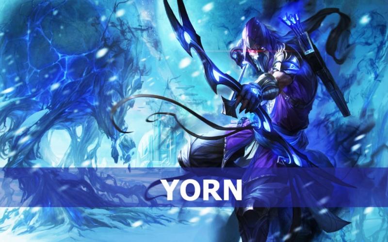 Yorn được biết đến là một xạ thủ
