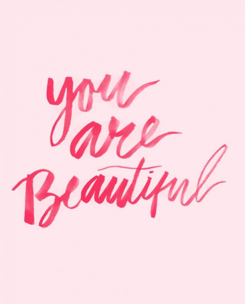 You're beautiful, you're beautiful, you're beautiful, it's true