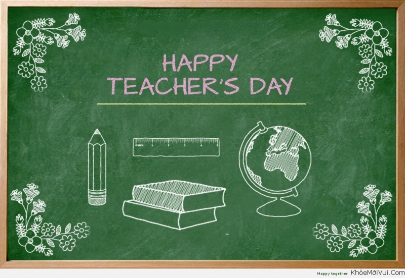 """You are my teacher"" is the truth never changing. I am proud of being your student. Happy Vietnamese Teachers' Day."