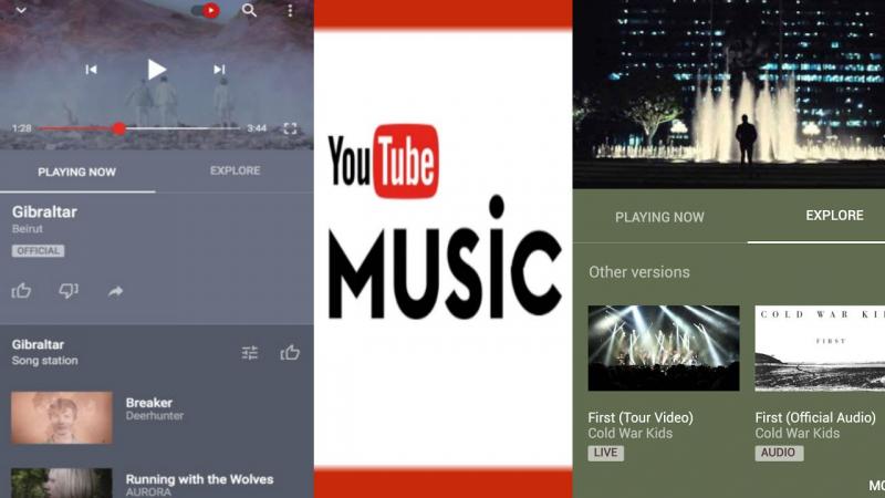 Ứng dụng nghe nhạc YouTube Music