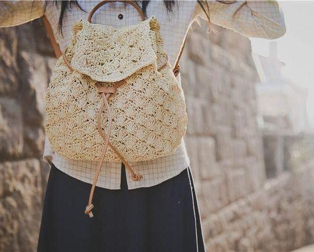Một mẫu balo đan cói mềm đáng yêu của Yoyopanda