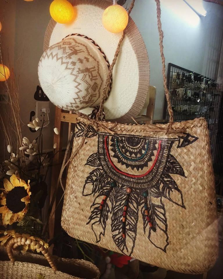 Túi handmade đậm phong cách hoang dã
