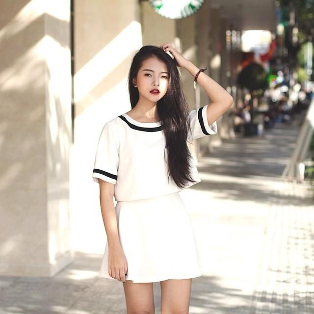 Hot girl Yu Dương ( nguồn internet)