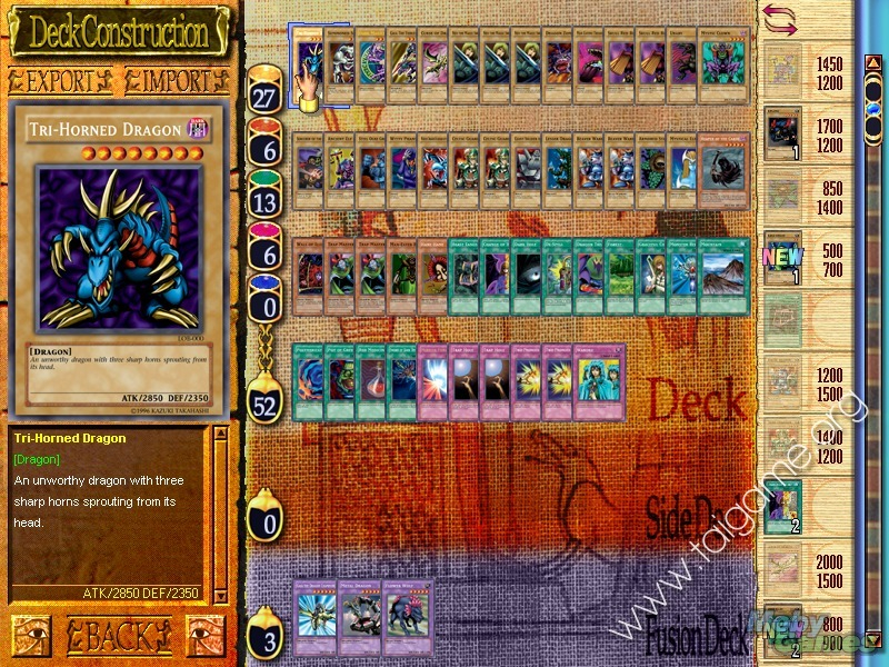 Tựa game Yu-Gi-Oh! Power Of Chaos