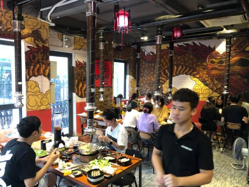 Yu long - Buffet lẩu nướng