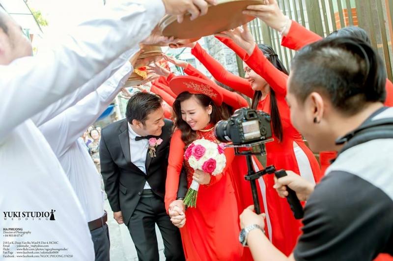 Ảnh cưới ở Yuki Studio