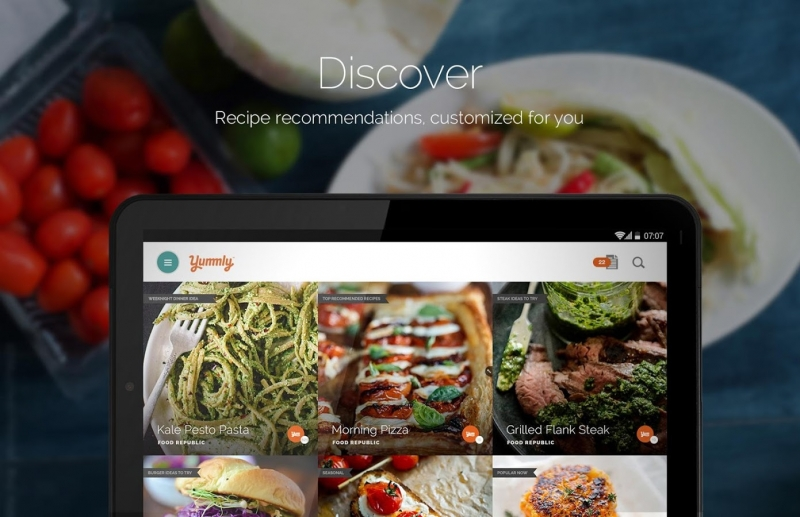 Yummly Recipes: Android/iOS/Windows Phone