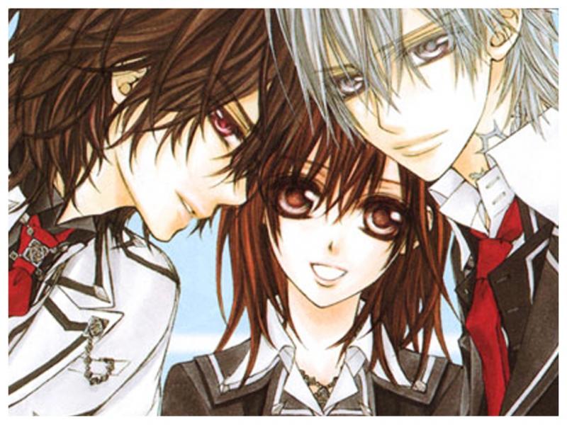 Từ trái qua phải: Kaname, Yuuki và Zero