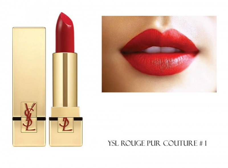 Yves Saint Laurent(YSL) Rouge Pur Couture 01 Le Rouge