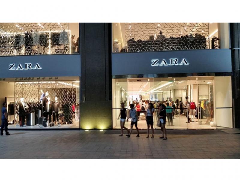 Cửa hàng Zara ở Vincom Đồng Khởi