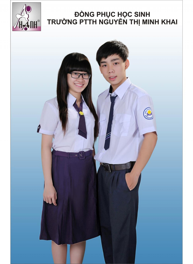 Đồng phục trường THPT Nguyễn Thị Minh Khai