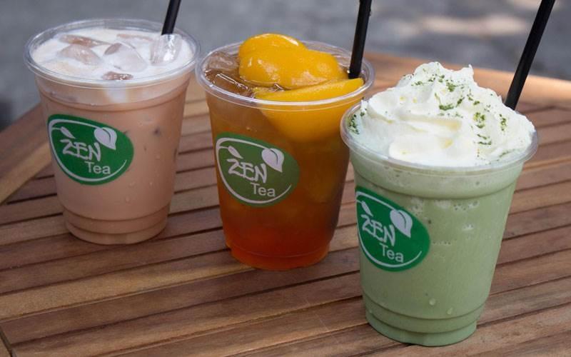 Zen Tea phục vụ nhiều loại trà khác nhau