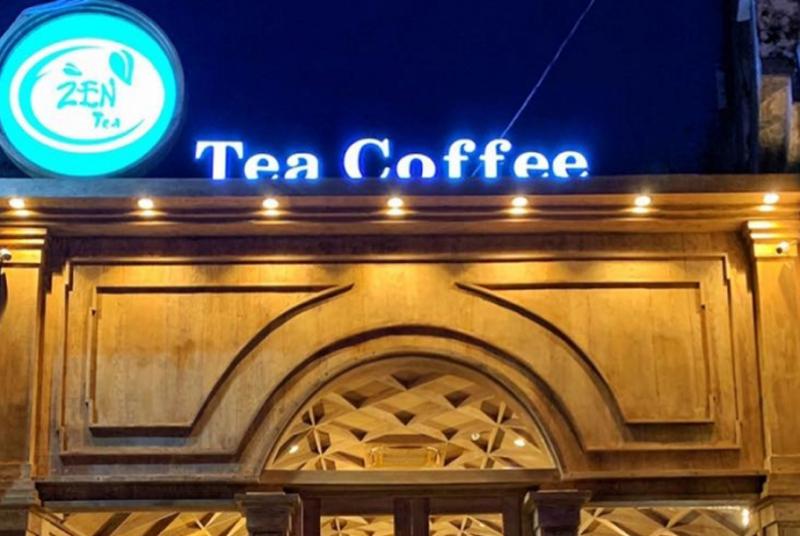 ZEN Coffee với không gian thiết kế sang trọng