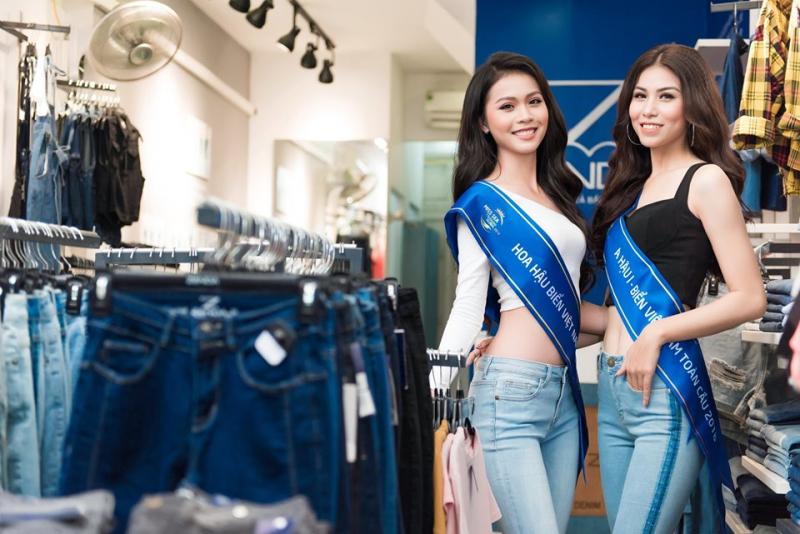Cá tính với quần jean rách bất đối xứng trẻ trung