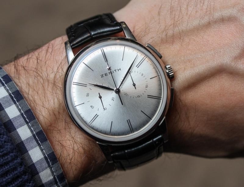Zenith El Primero Chronograph chính là chiếc đồng hồ đầu tiên xét về mặt kĩ thuật có rotor đầy đủ, bộ đếm giờ hight-beat và có cơ chế tự lên dây