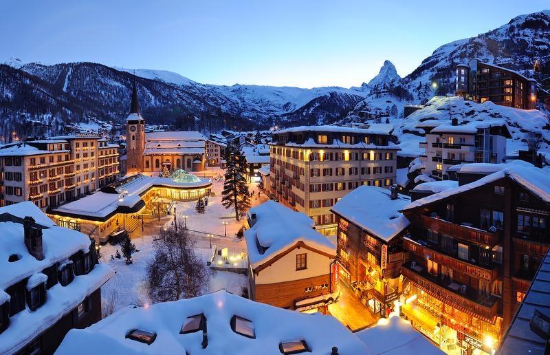 Zermatt được biết đến như một thành phố xanh