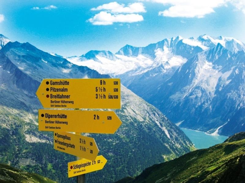 Zillertal Alps, Áo