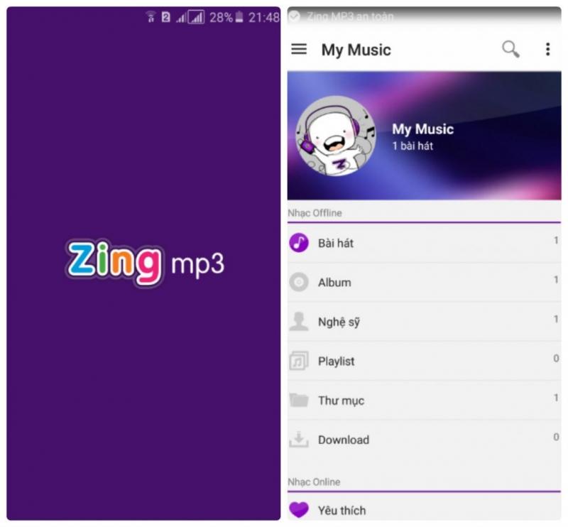 Tải ngay Zing mp3 để được thưởng thức những bài hát hay và hot nhất..