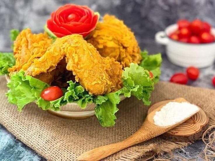 Cánh gà chiên giòn siêu ngon tại Zĩn's Kitchen