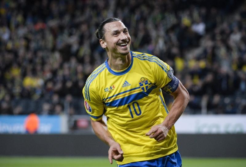 Ibrahimovic luôn là đầu tàu của đội tuyển Thụy Điển