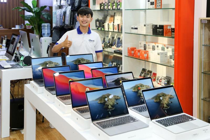 Ngoài iPhone, zShop còn kinh doanh các sản phẩm khác của Apple