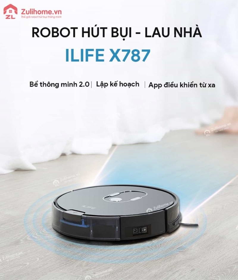 """""""ZuliHome – Thế giới robot hút bụi thông minh"""""""