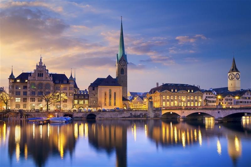 Zurich là thành phố lớn nhất của Thụy Sĩ